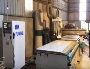 Máy gia công CNC trung tâm 2 bàn làm việc